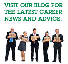Visit our blog for the latest career advice