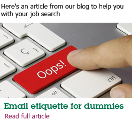 Email etiquette for dummies